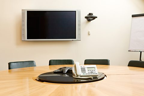 Conference Call commercial audio visual installation