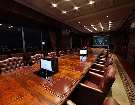 Conference Room commercial audio visual installation