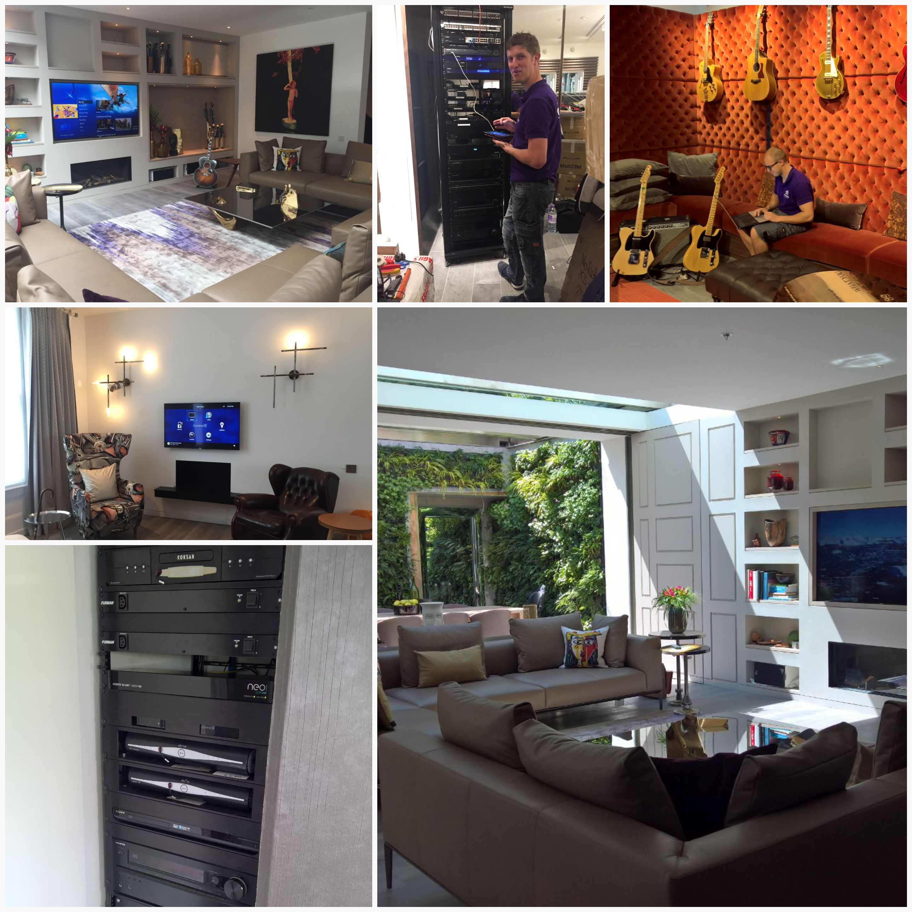 Smart home installation and smart lighting system