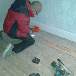 Toby Drilling Floor for Cable Run