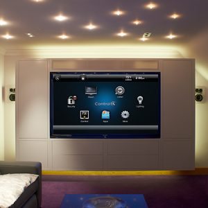 Control4 Home Cinema Installation