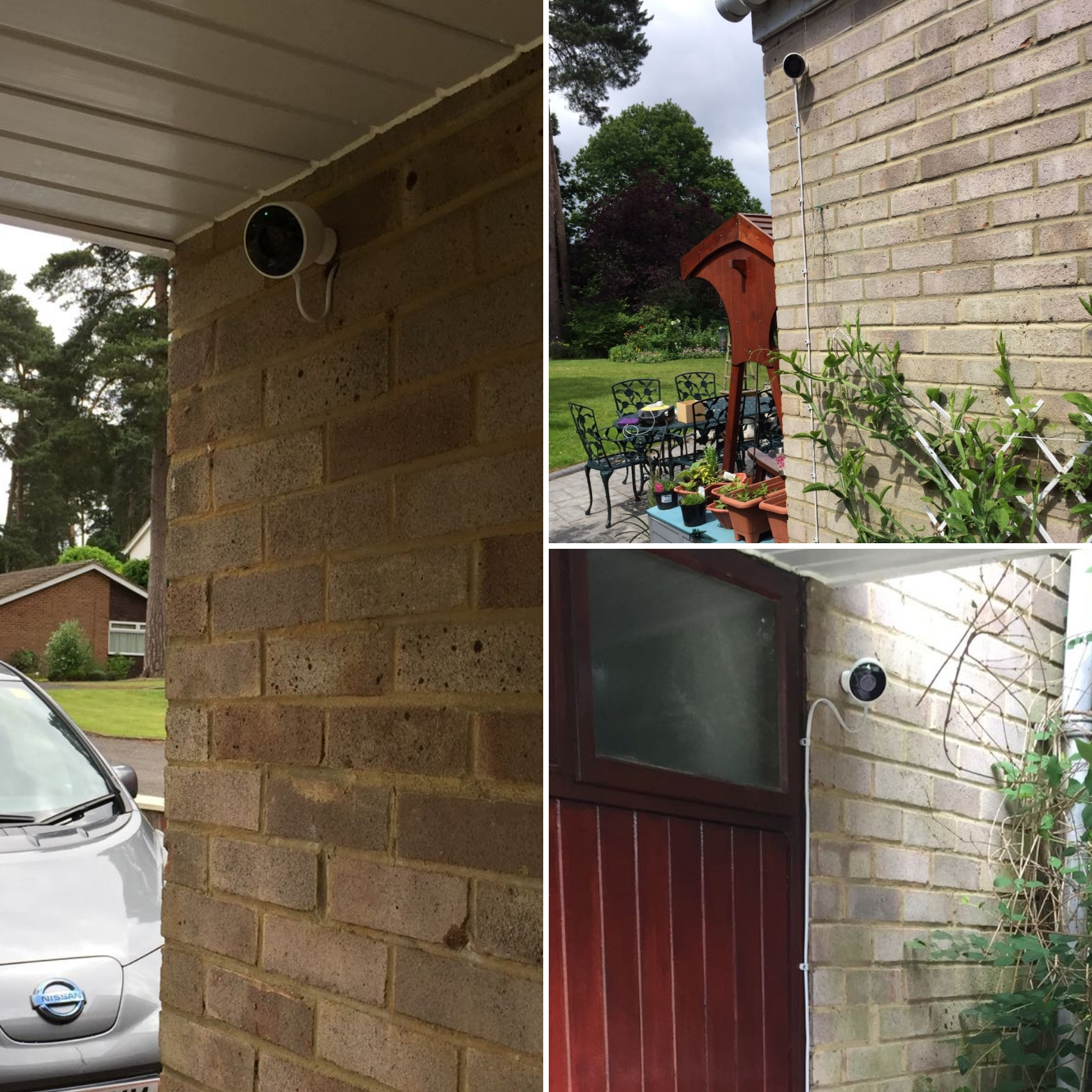 Camberly Nest Outdoor Camera Home CCTV System