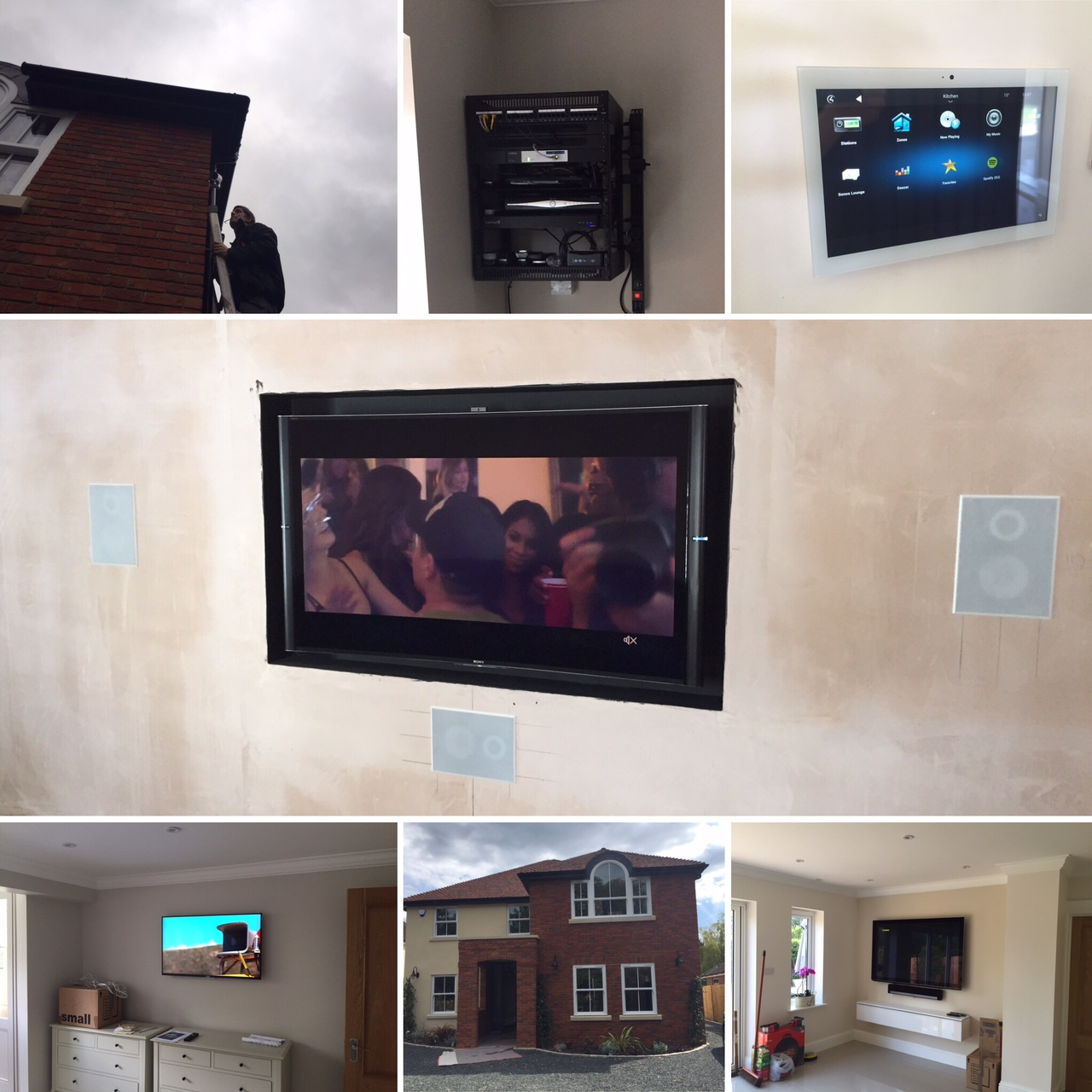 woodham updated home automation installation