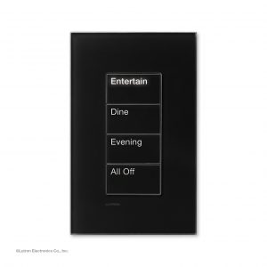 Control Panel for the Lutron Shading Solution