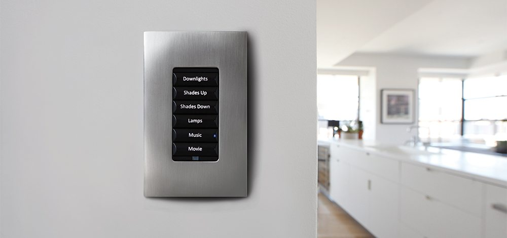 key pad for smart lighting system